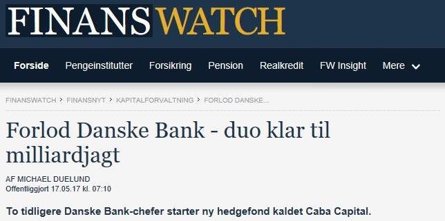 Artikel i FinansWatch